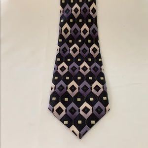 Bergamo New York Necktie 100% Silk